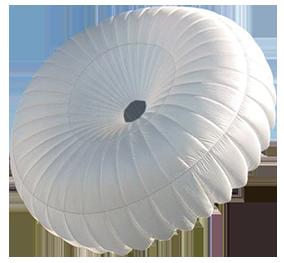 Parachute de secours rond Ozone Angel