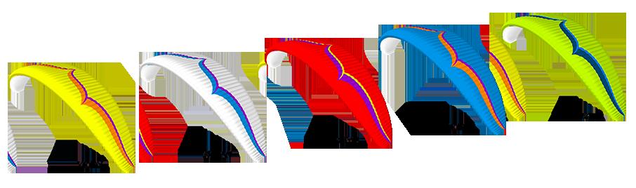 Couleurs de série de l'Ozone Alpina