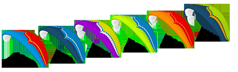 Couleurs de serie de l'Ozone Geo