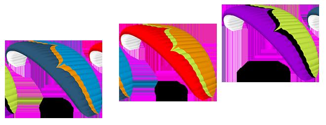 Couleurs de série de l'Ozone Spark