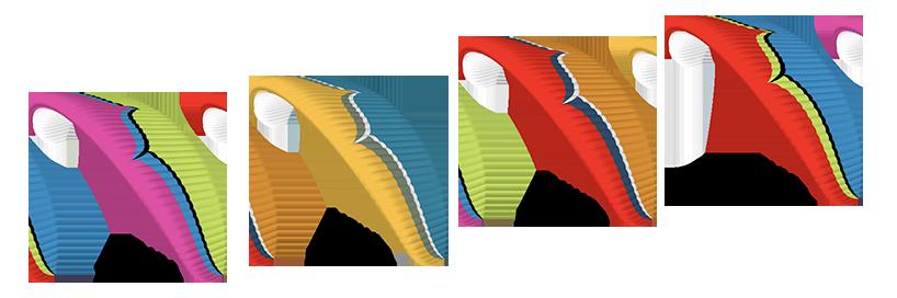 Couleurs de série de l'Ozone Speedster