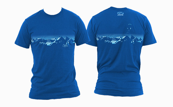 Tee-shirt Blue Mountain
